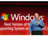 Bild: Microsoft-Chef Steve Ballmer hat nun bekannt gegeben, dass die nächste Windows-Version 2012 erscheint.