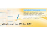 Bild: Der Microsoft Windows Live Writer hat sich zum soliden Blogger-Tool gemausert.