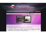 Bild: Zum Mitsingen: Tuneinsrtuctor liefert Lyrics auf den Bildschirm.
