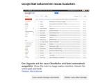 Bild: Wer möchte, kann sich schon jetzt für das neue Design von Google Mail entscheiden.