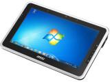 Bild: MSI WindPad: Wie unschwer zu erkennen ist, läuft das Tablet mit Windows.