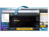 Bild: Mufin Player läuft im Browser, auf dem PC und auch unter Android.