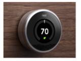 Bild: Nest ist ein Thermostat der die Heiz- und Kühlgewohnheiten seiner Nutzer erlernt.