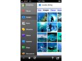 Bild: Die neue Google Mobile App fürs iPhone.