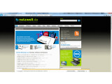 Bild: Der neue Internet Explorer 9: Schlanker als die Vorgängerversion.