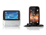 Bild: Die neuen Sony Ericsson-Handys: txt pro und Mix Walkman.