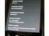 Bild: Dieses Nexus S läuft bereits mit Ice Cream Sandwich.