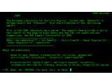 Bild: Nexus war der erste Browser und konnte nur Text darstellen.