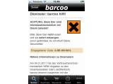 Bild: Nützliche Information: Die barcoo-App warnt Nutzer vor Eiern, die mit Dioxin belastet sind.