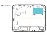 Bild: Ein Nutzer errechnete die Bildschirmgröße des neuen TouchPad-Modells anhand dieses Labels.