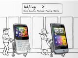 Bild: Nutzer, die sich in der nächsten Zeit ein HTC ChaCha oder Salsa kaufen, erhalten von HTC Flüge innerhalb Europas geschenkt.