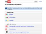 """Bild: Nutzer müssen bei Youtube """"HTML5 Stereo View"""" auswählen."""
