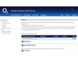 Bild: o2 Hosted Exchange beinhaltet eine kostenlose .de-Domain.