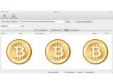 Bild: Die Oberfläche des Bitcoin-Programms ist sehr schlicht gehalten.