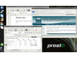 Bild: Die Oberfläche von Presto Linux ist äußerst einfach gehalten.