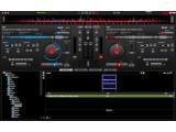 Bild: Die Oberfläche von Virtual DJ wirkt auf den ersten Blick etwas unübersichtlich.