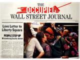 Bild: Die Occupy Wall Street-Bewegung ist inzwischen weltweit zu finden und hat ihre eigene Zeitung.