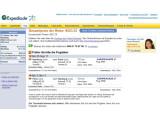 Bild: Das Online-Reisebüro schlüsselt fällige Gebühren am liinken Seitenrand auf.