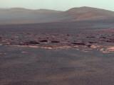 Bild: Opportunity wird das Gestein des Endeavour-Kraters untersuchen.