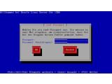 Bild: Oracle Linux 6.1 bietet leider keine grafische Installation, Anaconda ist nur im Terminal nutzbar.