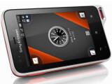 Bild: Outdoor-Handy Xperia active: Mineralglasbildschirm, staub- und wassergeschützt, Sport-Apps.