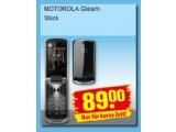 Bild: Penny bietet das Klapphandy Motorola Gleam etwa fünf Euro über Online-Preisen an.