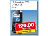 Bild: Auch Penny bietet mit dem LG Optimus Me ein Einsteiger-Smartphone an.