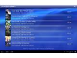 Bild: Der PlayStation Store steht nun für das Sony Tablet S zur Verfügung.