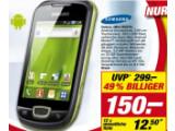 Bild: Der Preis von Toom für das Galaxy Mini kann nicht mit Online-Händlern mithalten.