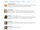 Bild: Pro Tag werden Millionen von Twitter-Nachrichten versendet.