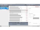 Bild: Das Programmfenster von OutBank ist sehr übersichtlich und in Grau/Blau-Tönen gehalten.