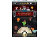 Bild: Punkte fürs Musik auflegen: ein Screenshot der kommenden iPhone-App von Turntable.fm.