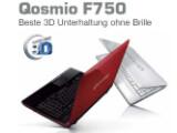 Bild: Die Qosmio-Reihe von Toshiba bekommt drei neue Modelle.