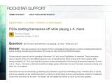 Bild: Rockstar Games macht die neue Sony Firmware für von Nutzern berichtete Überhitzungsprobleme verantwortlich.