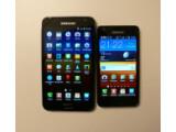 Bild: Das Samsung Galaxy Note (links) im Vergleich zum Galaxy S2.