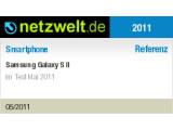 Bild: Das Samsung Galaxy S II ist die neue Handy-Referenz von netzwelt.