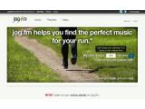 Bild: Die Seite jog.fm nutzt BPM-Informationen, um Songs passend zum Tempo des Nutzers zu empfehlen. Bild: Screenshot