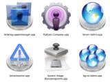 Bild: Die Server Admin Tools bestehen aus insgesamt sechs Anwendungen.