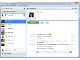 Bild: Skype bietet in der Version 5.5 eine noch stärkere Integration von Facebook.
