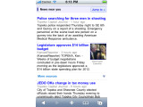 """Bild: Smartphone-Besitzer werden dank Googles """"News near you"""" über ihre Umgebung auf dem Laufenden gehalten."""