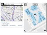 Bild: Mit Smartphones können Nutzer jetzt die Übersichtspläne von mehr als 400 Einkaufszentren bei Bing aufrufen.