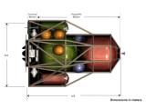 Bild: So ähnlich könnte das Konzept einer Weltraum-Tankstelle aussehen.