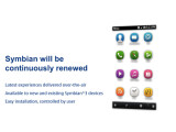 Bild: So soll die neue Symbian-Nutzeroberfläche aussehen.