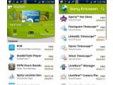 Bild: Sony Ercisson vertreibt nun spezielle Apps für seine Xperia-Handys über einen eigenen Kanal im Android Market.