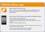 Bild: Strato plant HiDrive-Apps für alle wichtigen Handy-Betriebssysteme.