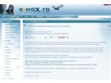Bild: Das Streaming-Portal Kino.to ist nun unter der Adresse Kinox.to wieder zu erreichen.