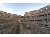 Bild: Mit Street View können Nutzer ab sofort auch einen Blick in das Kolosseum in Rom werfen.