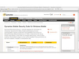 Bild: Symantec Mobile Security ist sowohl für Symbian als auch Windows Mobile erhältlich.