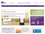 Bild: Die Telekom, O2 und Vodafone informieren auf einer gemeinsamen Seite über das mobile Bezahlsystem Mpass.