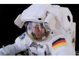 Bild: Thomas Reiter hat 2006 Außenarbeiten an der ISS durchgeführt.